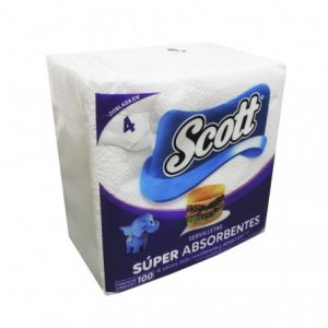 servilleta-scott-blanca-doblada-x-100-un