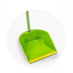 Recogedor-de-basura-verde